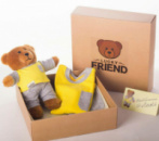 Комплект Lucky Friend пижамка и мишка 146 см 10-11 лет (2mafi5)