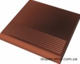 Ступень рельефная прямая гладкая CLOUD ROSA 30x30