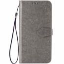 Кожаный чехол (книжка) Art Case с визитницей для Xiaomi Mi 9 SE Серый