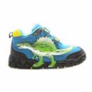 Ботинки Спинозавр голубые