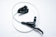 Тормоз дисковый гидравл. передний NUTT Y-1 750мм белая гидролиния без ротора