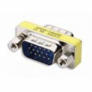 Переходник VGA (папа-папа) (male-male) 15 Pin