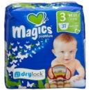 Подгузники Magics Premium 3 Mini (4-9кг) 31шт Drylock