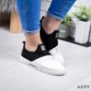 Кроссовки женские FS белый + черный