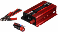 Преобразователь UKC авто инвертор 12V-220V 500W LCD KC-500D + USB Red