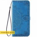 Кожаный чехол (книжка) Art Case с визитницей для Xiaomi Redmi 8a Синий