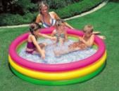 Детский бассейн «Радуга» 114*25 см, Intex 57412