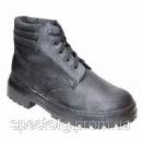 Ботинки рабочие клеепрошивные юфть-кирза