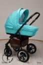 Детская универсальная коляска 2 в 1 Sonet New, Ajax Group (Сонет Нью, Аякс Груп).