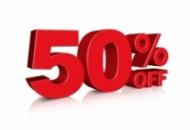 Сезонные Скидки 50%
