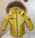 Зимний комбинезон с курткой на мальчика