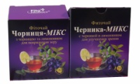 Фиточай № 10 Черника-Микс с черникой и лимонником 20 пакетов по 1,5 г