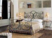 Кованая кровать «Лозанна»