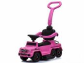 Детский Толокар-электромобиль Mercedes-Benz Pink (M 3853EL-8)