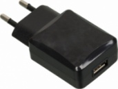 Зарядное устройство для аккумулятора BURO TJ138b, USB, 2.1A, черный