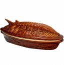 Супник (жаровня) Осетр «Яскрава кераміка» 1,5л с крышкой