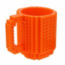 Кружка-конструктор QCF оранжевая