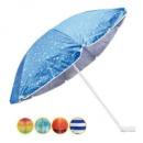 Зонт пляжный d1,8м серебро 0037