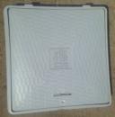 Люк серый полимерный квадратный 650х650 мм, нагрузка 1,5 т.