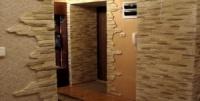 Облицовка стен декоративной плиткой под «кирпич» или «камень»
