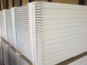 Гипсокартон стеновой 1200 * 2500 * 12,5 мм KNAUF