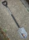 Лопата штыковая облегчённая Fiskar (131510)