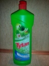 Tytan молочко для чистки и мытья яблоко 900мл