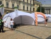 Шатер палатка «PARK» 4х4 цвет белый. Палатка выставочная. Киев