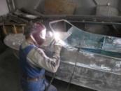 Сварка алюминиевых лодок