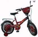 Детский Велосипед 2-х колесный Тачки 16«