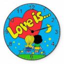 Настенные часы всё про любовь