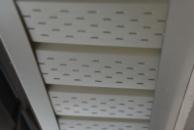 Софит металлический - подшивочный сайдинг, карнизная подшива.