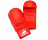 Перчатки без защиты пальца WKF Red