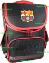 Рюкзак каркасный ортопедический школьный для мальчика Футбол FCB, Barcelona
