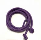 Гимнастическая скакалка диаметр 10 мм. фиолетовая 3 метра, из синтетического материала полипропилена.