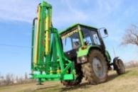 Тракторный гидравлический погрузчик-манипулятор модернизированный ГСТм-1000 «Диапазон».