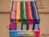 Зажигалки Резина Бархат цветные