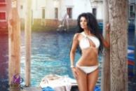 Стильный раздельный купальник женский 672 кид