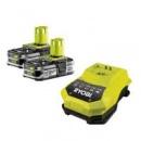 Аккумулятор + зарядное Ryobi RBC18LL15