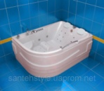 Акриловая ванна Тритон РЕСПЕКТ (Левая) 1800х1300х750