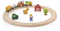 Игровой набор Viga Toys «Железная дорога» 19 деталей (51615)