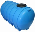 Купить горизонтальные пластиковые бочки для хранения воды на 2000 литров.