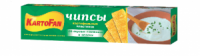 Чипсы ТМ KartoFan «Сметана с зеленью» 50г