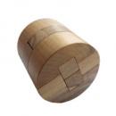 Деревянная головоломка Круть Верть Цилиндр 8х7.5х7.5 см (nevg-0020)