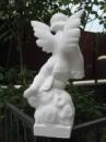 Ангел бетонный №6