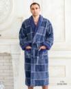 Мужской теплый халат Victoria 1710