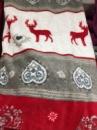Плед 160x200 см. рождественские олени