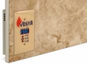 Керамический инфракрасный обогреватель VESTA ENERGY PRO 1000 с программатором бежевый