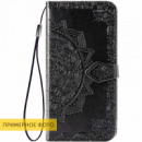 Кожаный чехол (книжка) Art Case с визитницей для Xiaomi Redmi 8a Черный