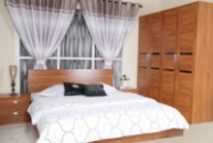 Набор мебели для спальни Платон (кровать 1,8+2 тумбочки+шкаф+туалетный столик)